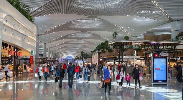 İstanbul Havalimanı'nda Kurban Bayramı heyecanı başladı