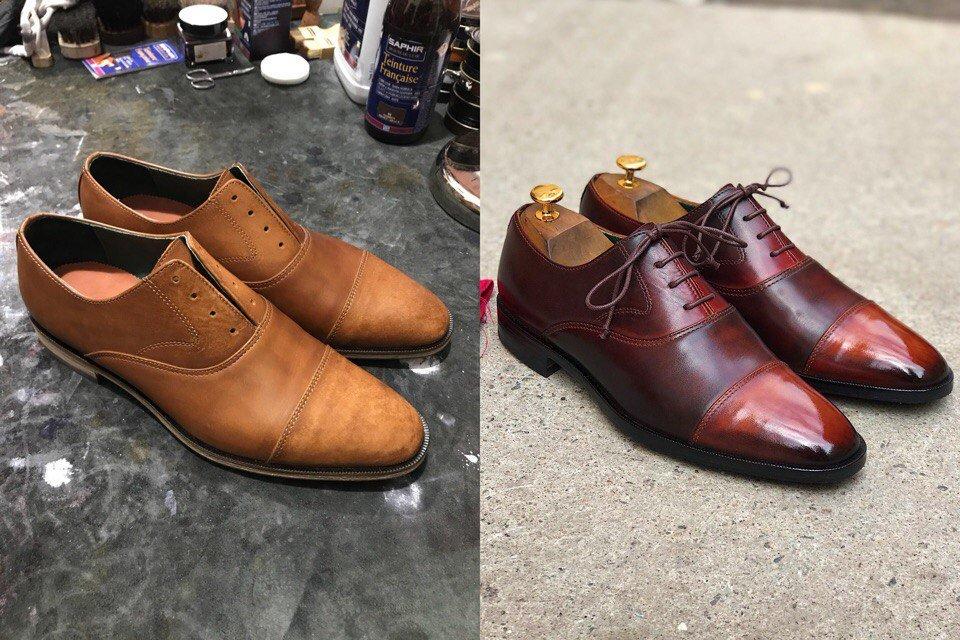 ремонт обуви фото до и после острове