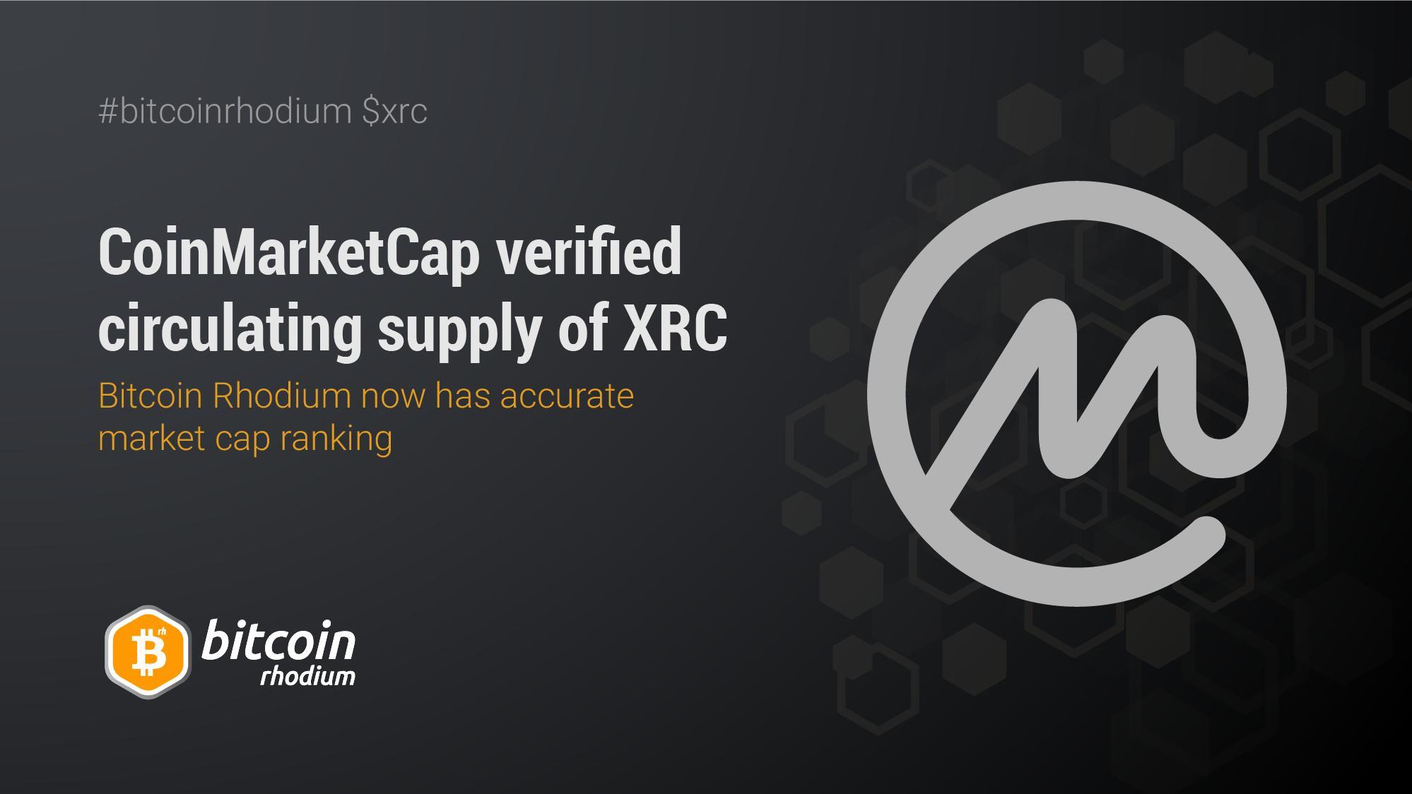 coinmarketcap bitcoin rhodium bitcoin waterloo