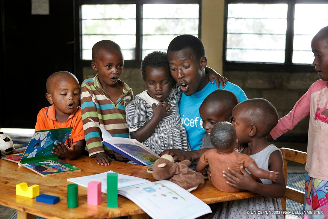 On #BookLoversDay, a new adventure together is just a 📖 away! What was your favorite book growing up? 📸: @unicefrw