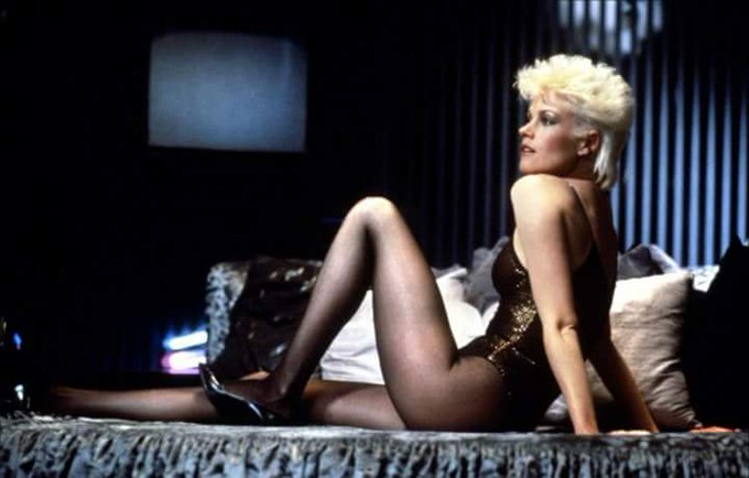 Happy birthday Melanie Griffith in Body Double 1984.