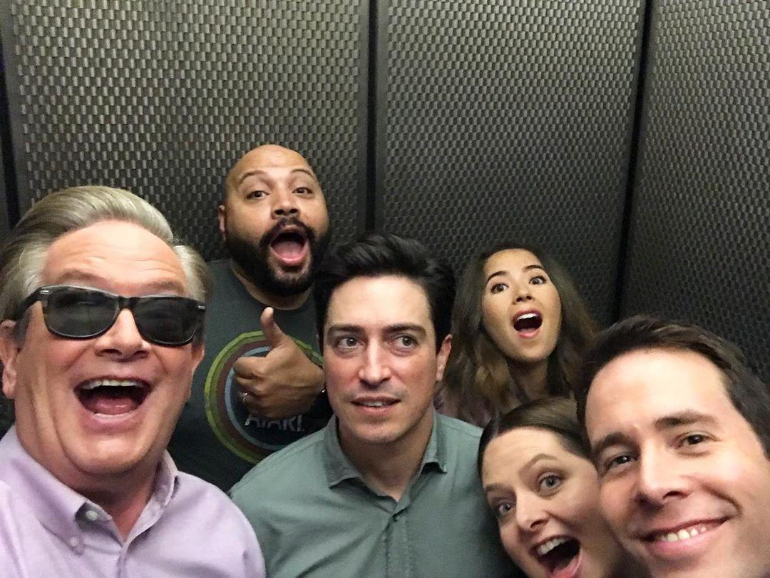 When you're at a party and your social battery runs out. #Superstore📷: @Mark_DMcKinney