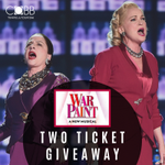 See our Facebook page to enter to win two tickets to see War Paint! Choose your own date/time for an awesome date night or girls night out! https://t.co/LiomR3ONVO