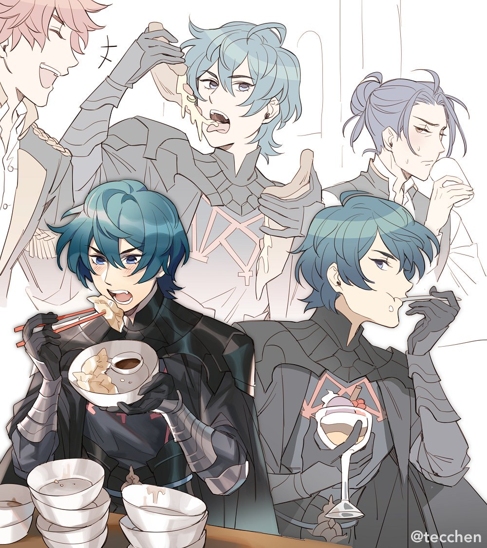byleths professor level is just a measure of how many meals they can eat in one sitting #FireEmblemThreeHouses