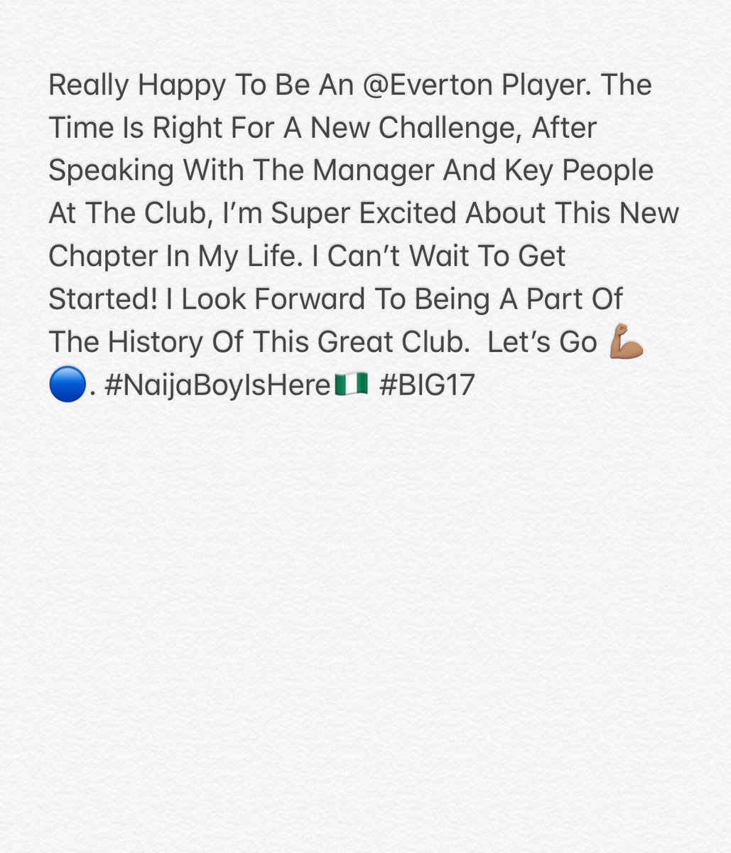 😁🔵 @Everton