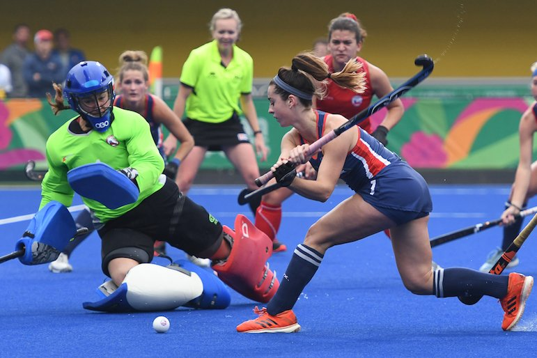 WC Eagles' Erin Matson scores hat trick for USA