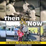 Image for the Tweet beginning: #ThrowbackThursday #LASD started community policing