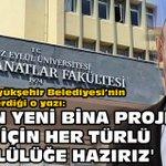 Image for the Tweet beginning: İşte İzmir Büyükşehir Belediyesi'nin DEÜ'ye