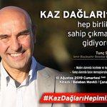 Image for the Tweet beginning: Kaz Dağları'na hep birlikte sahip