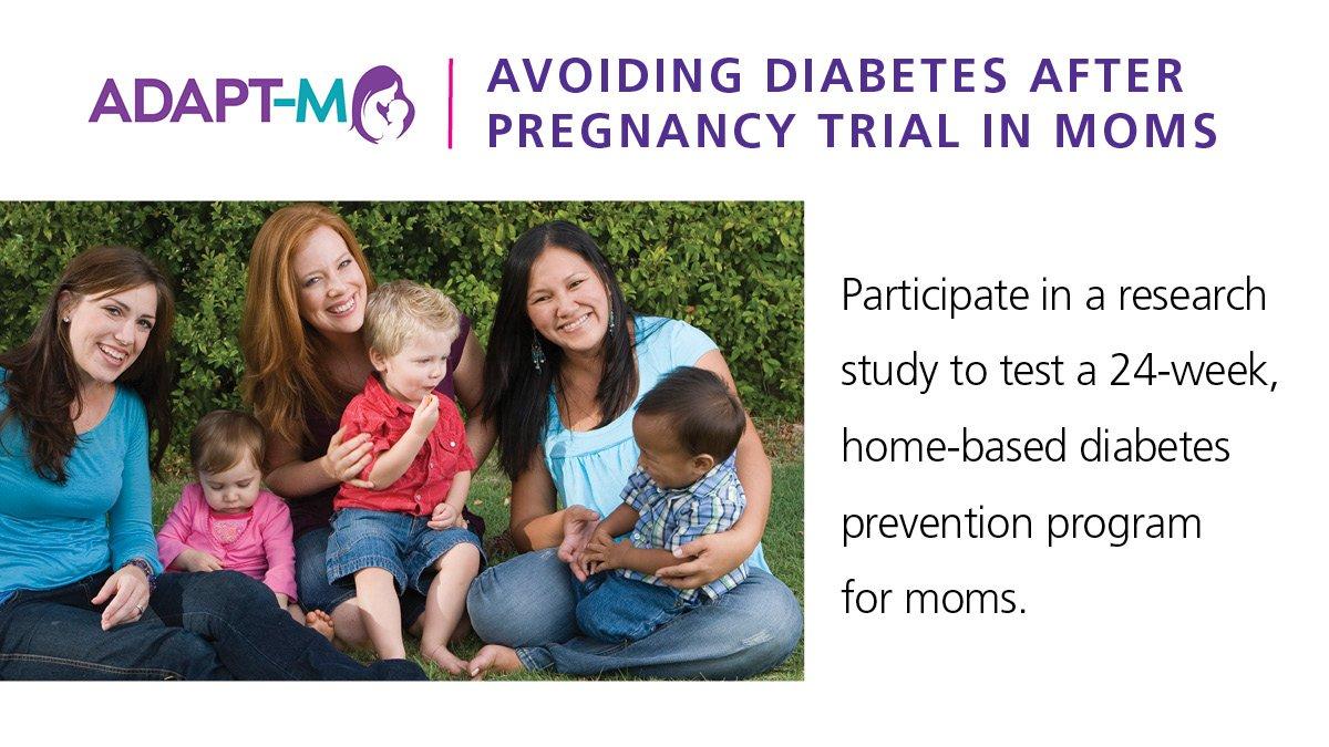 test Twitter Media - 20% of women who had #GestationalDiabetes will develop #Type2Diabetes. Help our scientists test a new diabetes prevention program. ➝ https://t.co/bzTxLvXWsr. https://t.co/FgD5YPd6j6