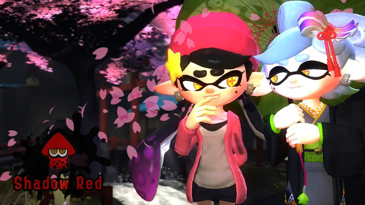 Shadow Red On Twitter Callie And Marie Wallpaper Splatoon
