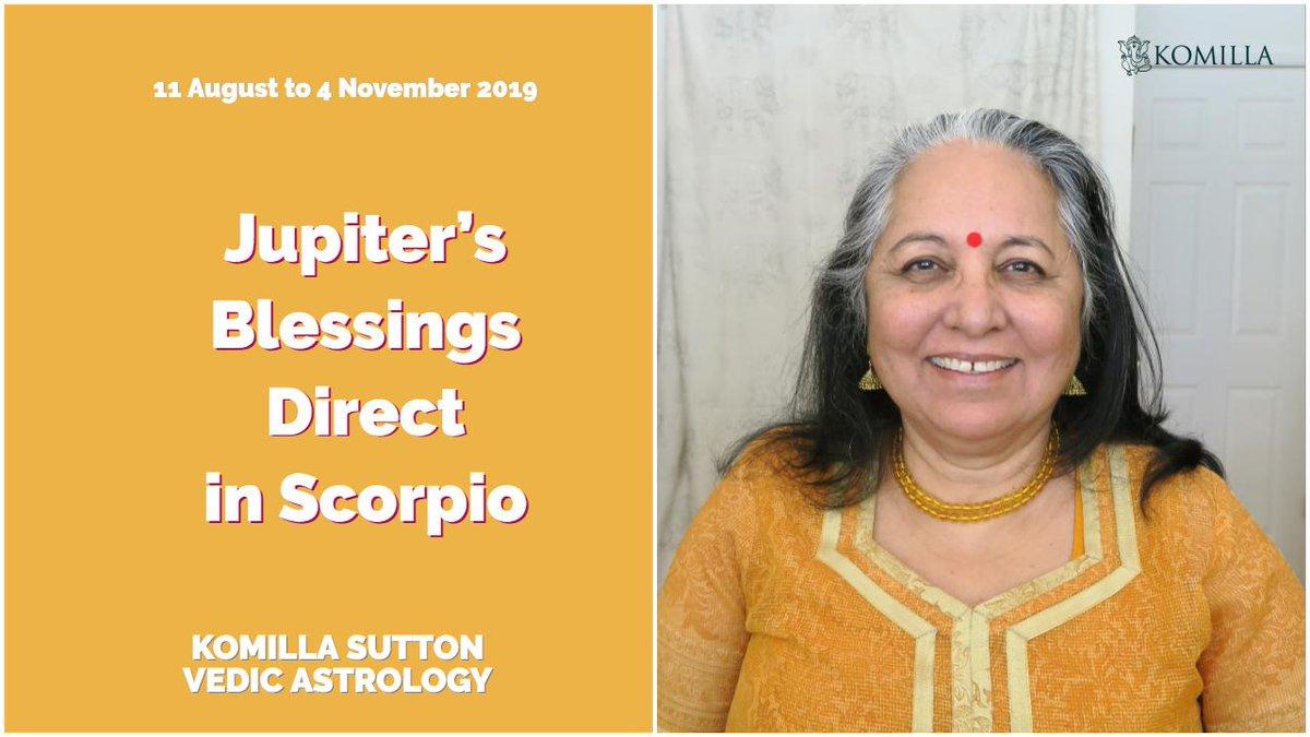 Vedic Astrology Juptier In Scorpio