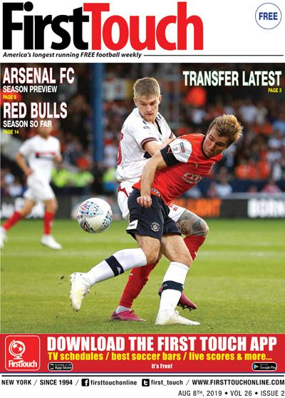first touch soccer magazine on twitter we ve been around since before cristian pulisic was born america s longest running free soccer fanzine is back for our 26th year in nyc pick up your twitter