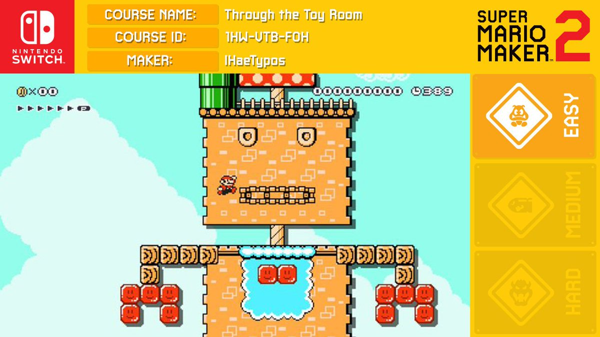 The Super Mario Maker Report (@MarioMaker2019) | Twitter