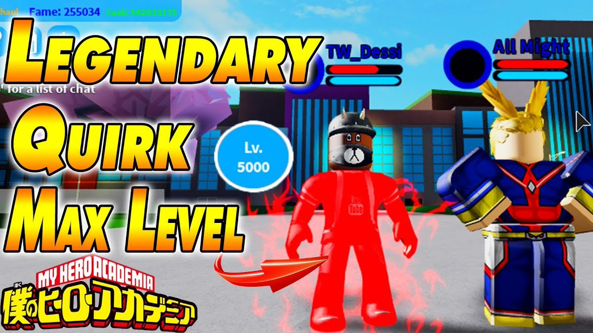 Boku No Hero Academia Roblox Pcgame On Twitter Legendary Quirk Max Level Boku No Roblox Remastered Link Https T Co Cippmsw9ac Bestquirkbokunorobloxremastered Bokunoroblox Bokunorobloxmaxlevel Bokunorobloxremasteredcodes Bokunorobloxremasterednewcodes