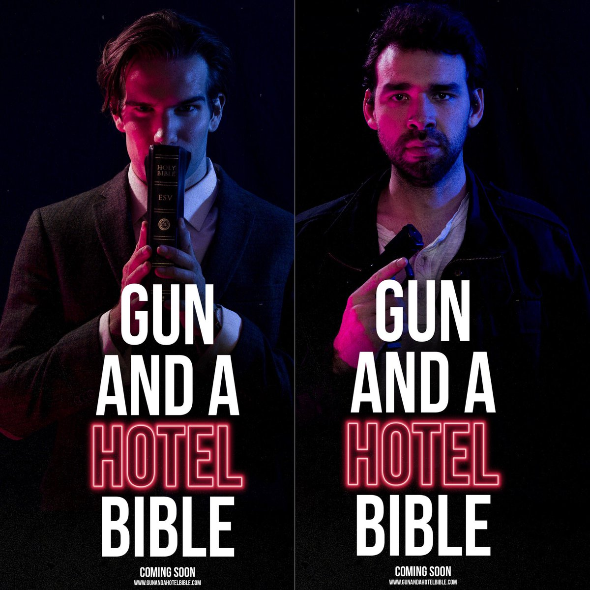 """Gun and a Hotel Bible,"" Faith-based Film Aimed at Skeptics and Doubters, Now Available for Online Streaming"