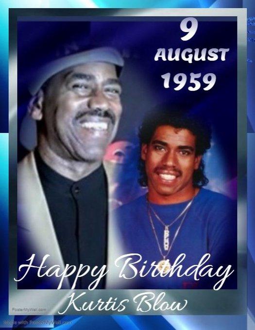 Happy Birthday Kurtis Blow