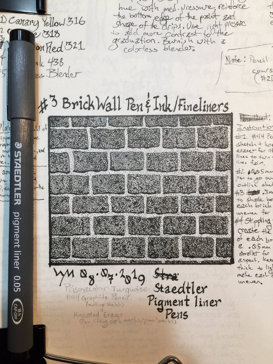 #wynart #brickwall #penandinkstudy #artstudy #sketchingstudy #art #drawing #sketch #staedtler #pigmentliners #pensketchpic.twitter.com/atsWlpbAJm