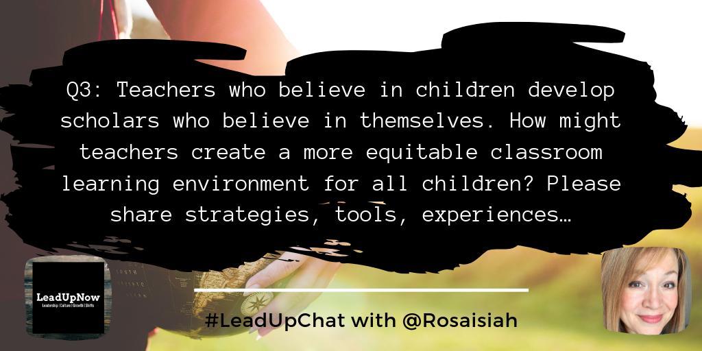 RTQ3: How do you do it? #LeadUpChat w/ @RosaIsiah
