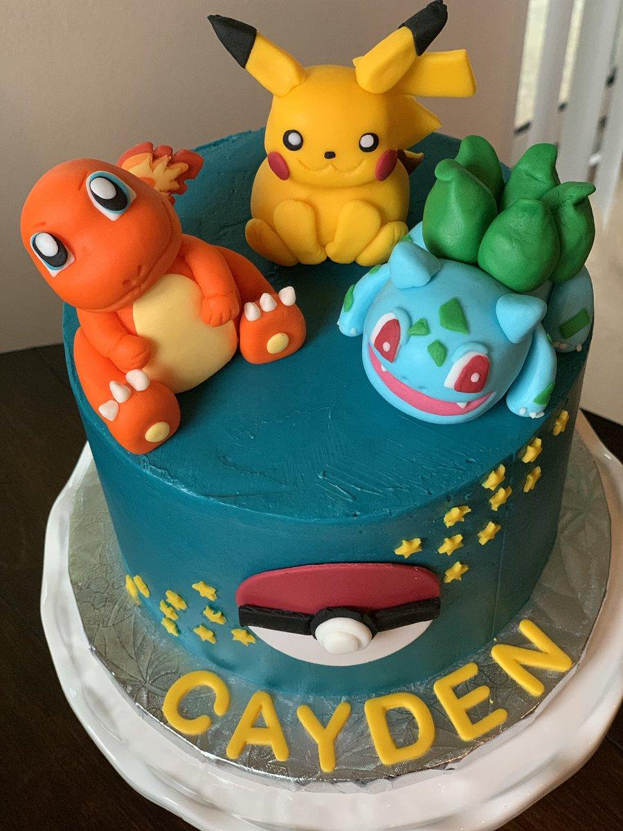 Surprising Pokemonbirthdaycake Hashtag On Twitter Funny Birthday Cards Online Elaedamsfinfo