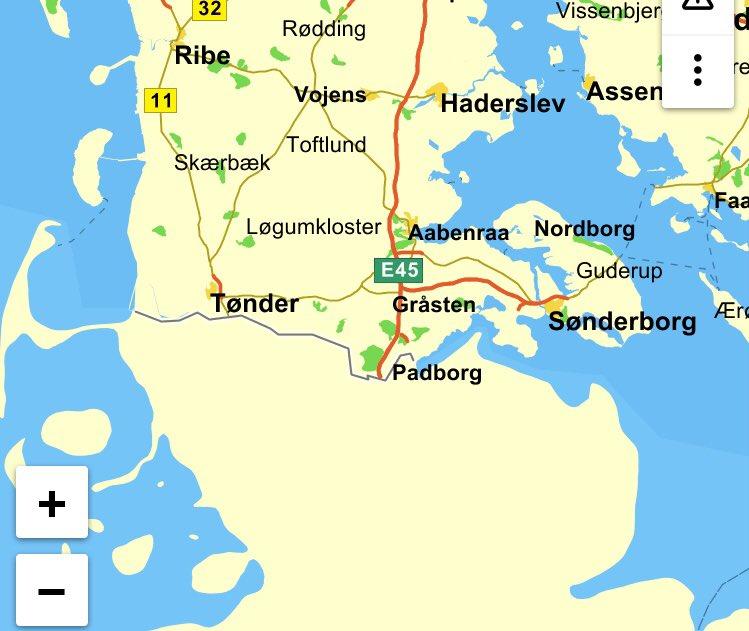 Allan Kiil Jorgensen On Twitter Sonderjylland Pa Et Krak Kort