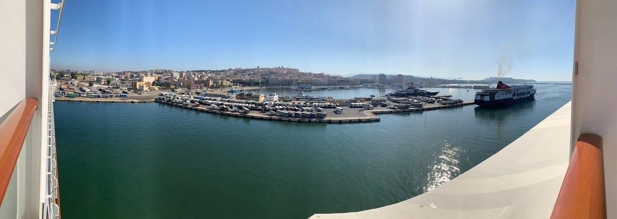 Cagliari, blistering hot day.