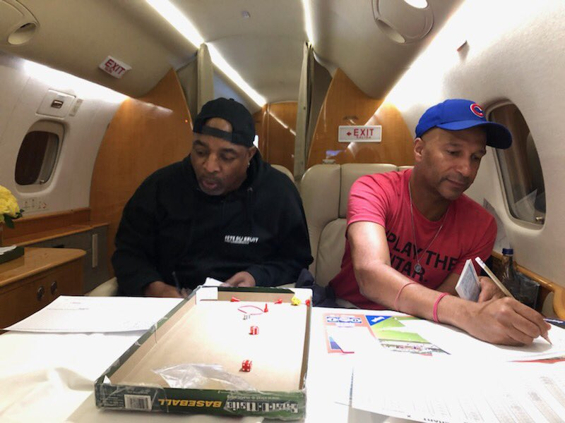 Chuck D and Tom Morello played Strat-O-Matic on a plane