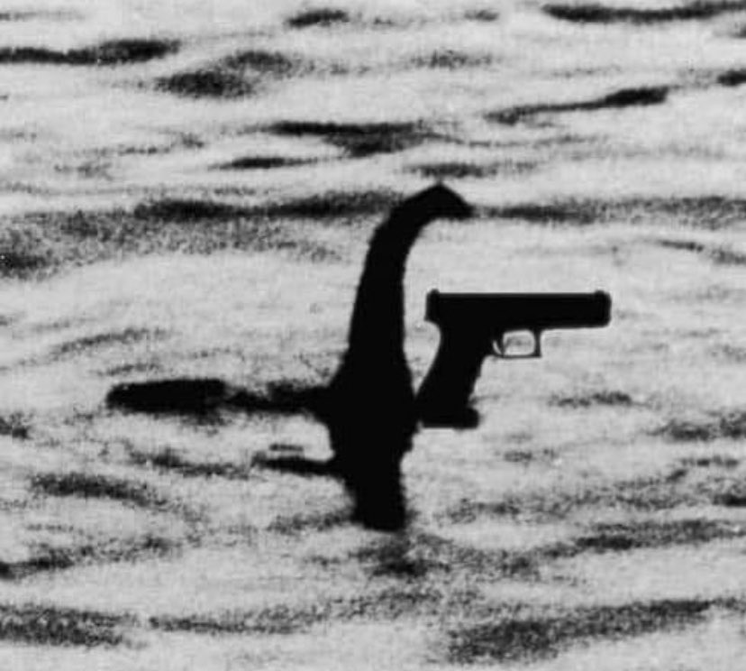 The glockness monster