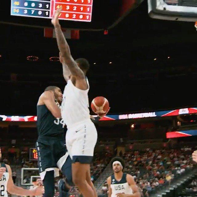 RT @NBA: Jayson Tatum x #PhantomCam   #USABMNT  #USAGotGame  @usabasketball https://t.co/cASBVKqd8h