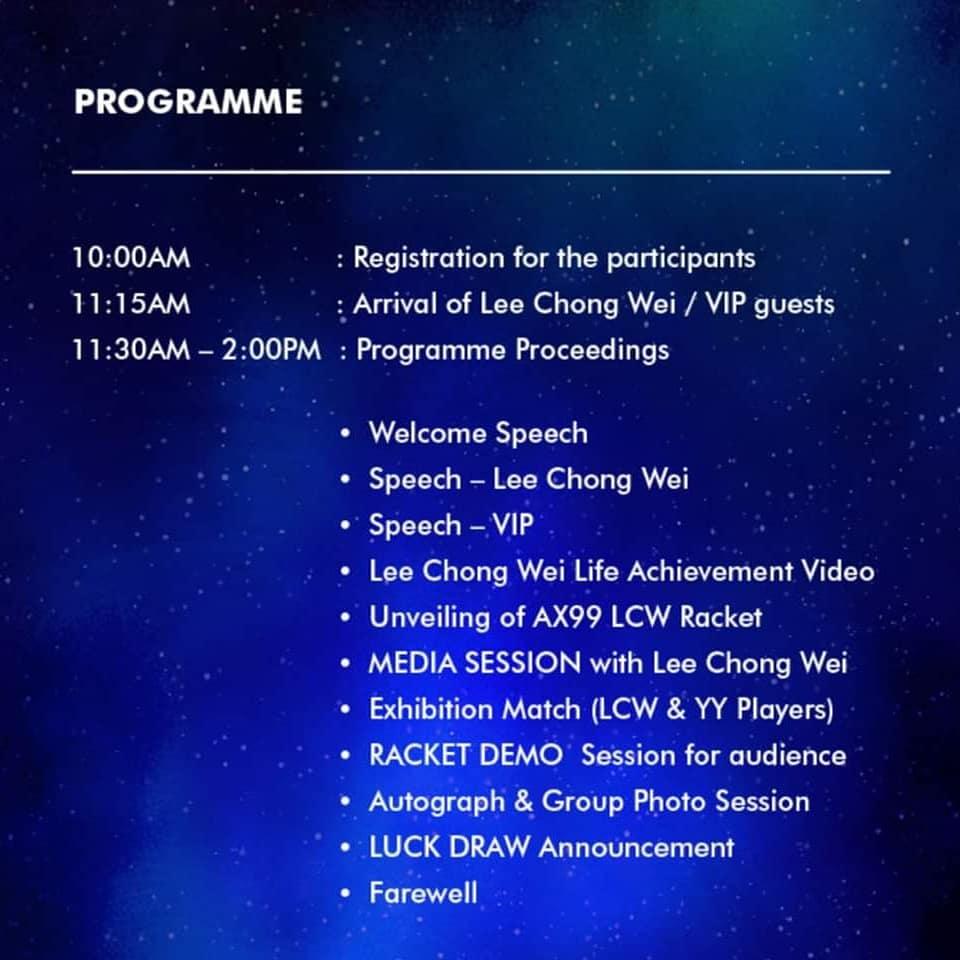 Dato' Lee Chong Wei (@LeeChongWei) | Twitter