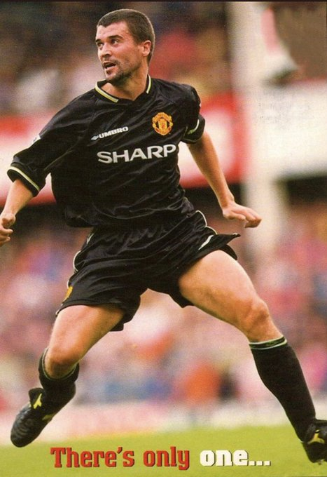 Happy Birthday Roy Keane (48)   Wish we had a prime Keane playing behind Pogba