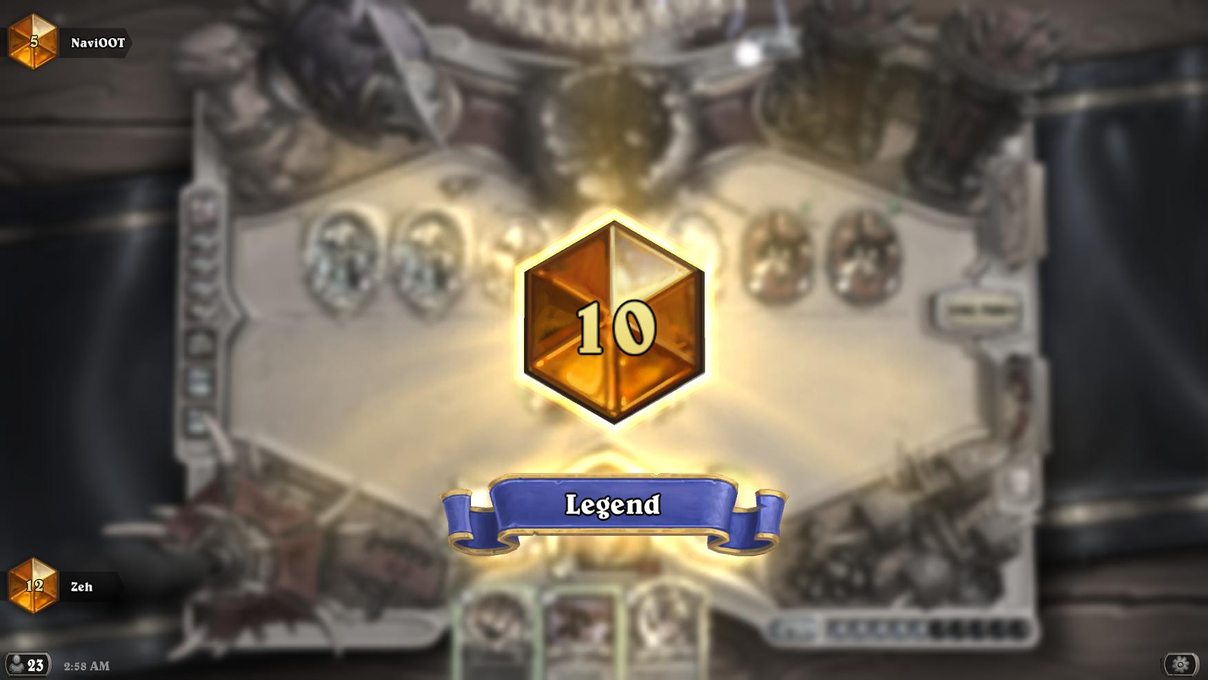 10 Legend] Highlander Warrior (Zeh_HS) - Hearthstone Decks