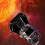 Image for the Tweet beginning: NASA's Parker Solar Probe is