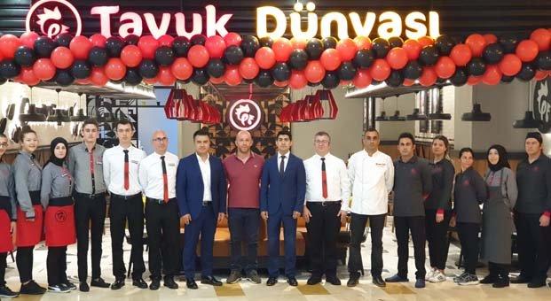 Tavuk Dünyası'ndan Tekirdağ'a beşay içinde ikinci restoran yatırımı