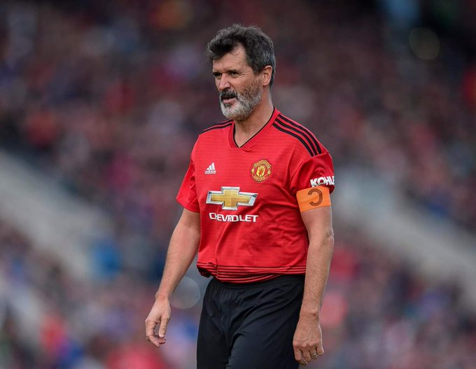 Happy birthday to my favorite Manchester United Captain Roy Keane, A Legend