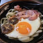 Image for the Tweet beginning: SATURDAY HAPPINESS. English Breakfast Udon
