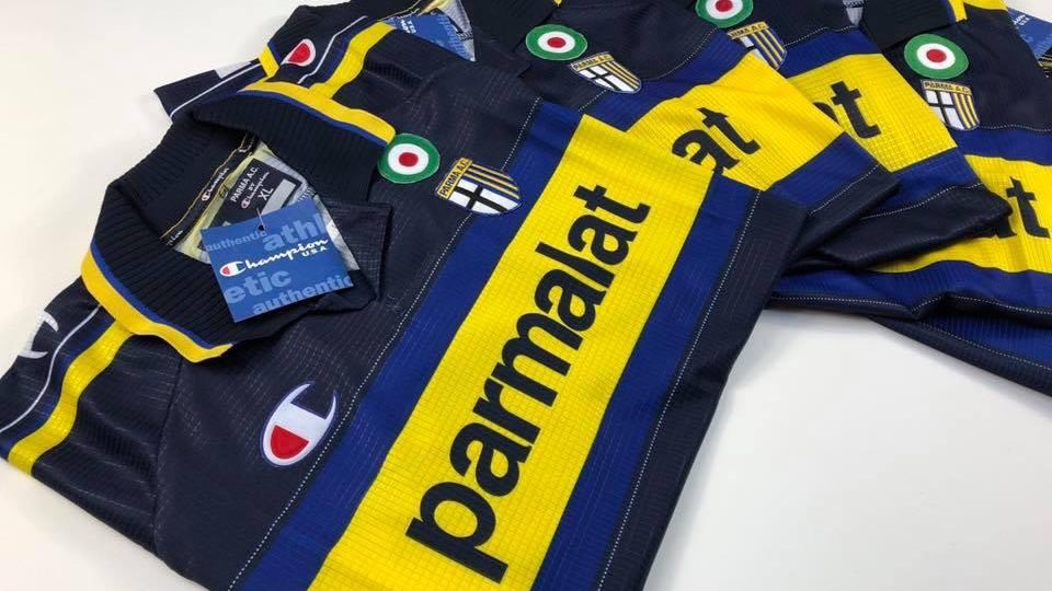 Original Parma x Champion DEADSTOCK New in our clearance section cultkits.com/shirts/clearan…