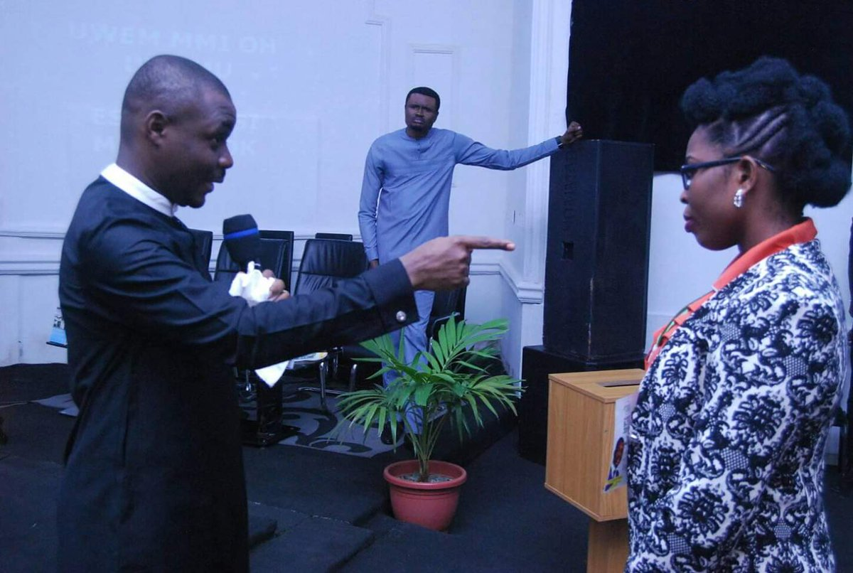 BIG4: THE BLESSING SUMMIT  DAY 2: MORNING SESSION #Big_4  #The_Blessing   TESTIMONIES And they overcame by the blood of the Lamb and by the word of their testimonies...- Revelations 12:11.  E. She had a hip problem and got healed instantly.  SOMEBODY GIVE JESUS PRAISE!