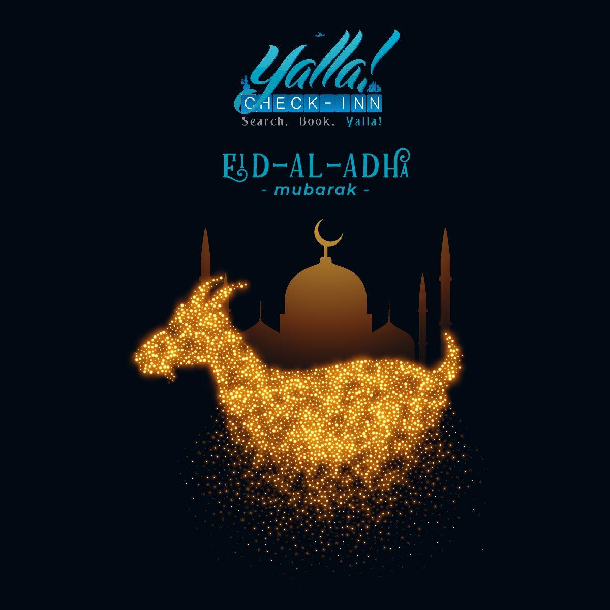 Eid Al Adha Mubarak https://t.co/tPzpWDiq9B