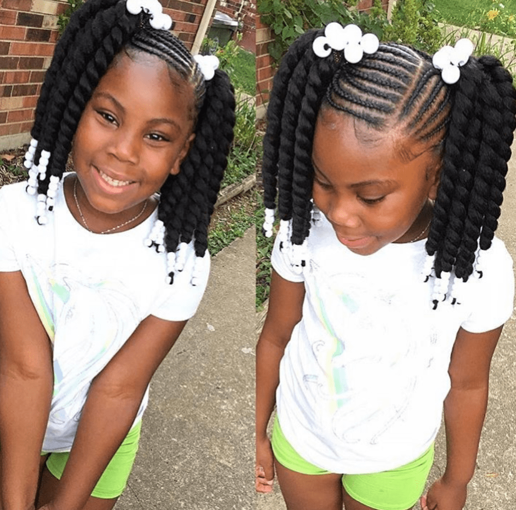 Lisa A La Mode On Twitter 43 Braid Hairstyles For Little Girls With Natural Hair Https T Co Payuber5pw