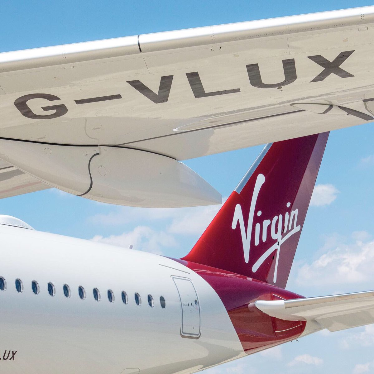 Welcome to the family, Red Velvet 🍰✈️ If you want to follow G-VLUX home the flight number is VS835P. Planned departure from Toulouse Blagnac at 20:15 GMT+2, arriving at @Gatwick_Airport at 20:40 GMT+1 ✈️