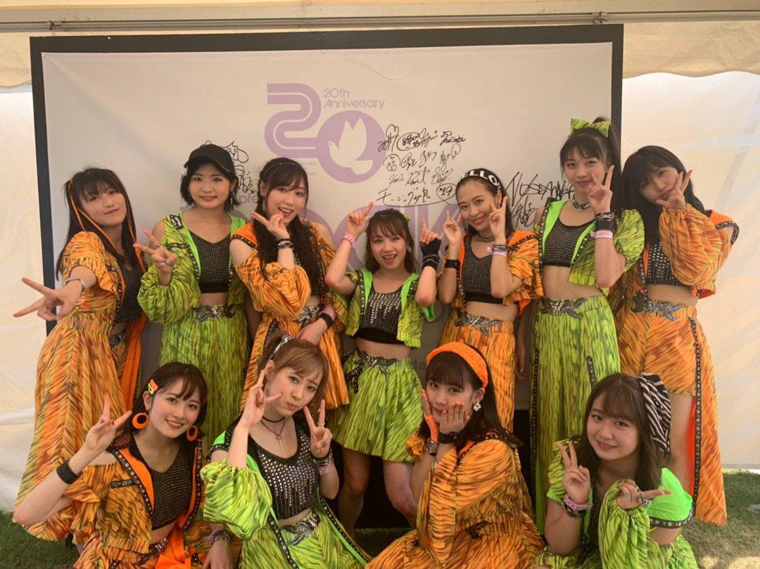 【13期14期 Blog】 RIJF 2019!! 加賀楓: こんばんはー!!加賀楓でーす(°▽°)ROCK IN JAPAN FES. 2019終了しましたあああ!!!GRASS…  #morningmusume19