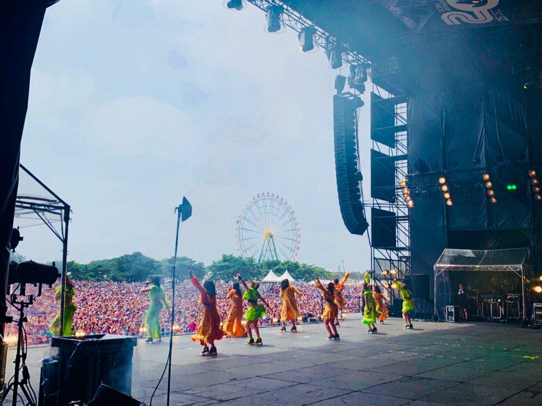 【10期11期 Blog】 ロッキン!!小田さくら: どうも!小田さくらです今日の午前中にROCK IN JAPAN FES.2019に出演させていだきました〜なんとなんとGRASS…  #morningmusume19