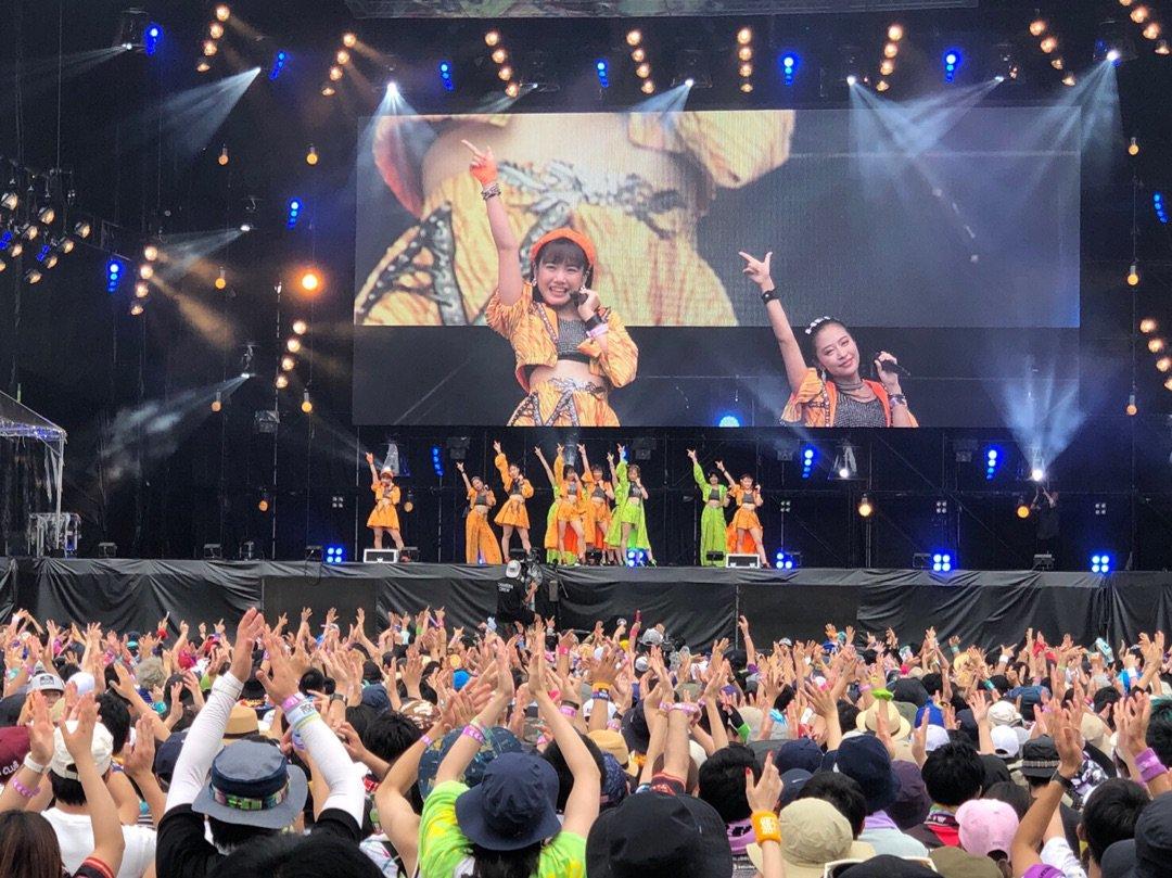 【13期14期 Blog】 ロッキンありがとう 横山玲奈: 横山玲奈です。今日はROCK IN JAPAN FESTIVAL…  #morningmusume19