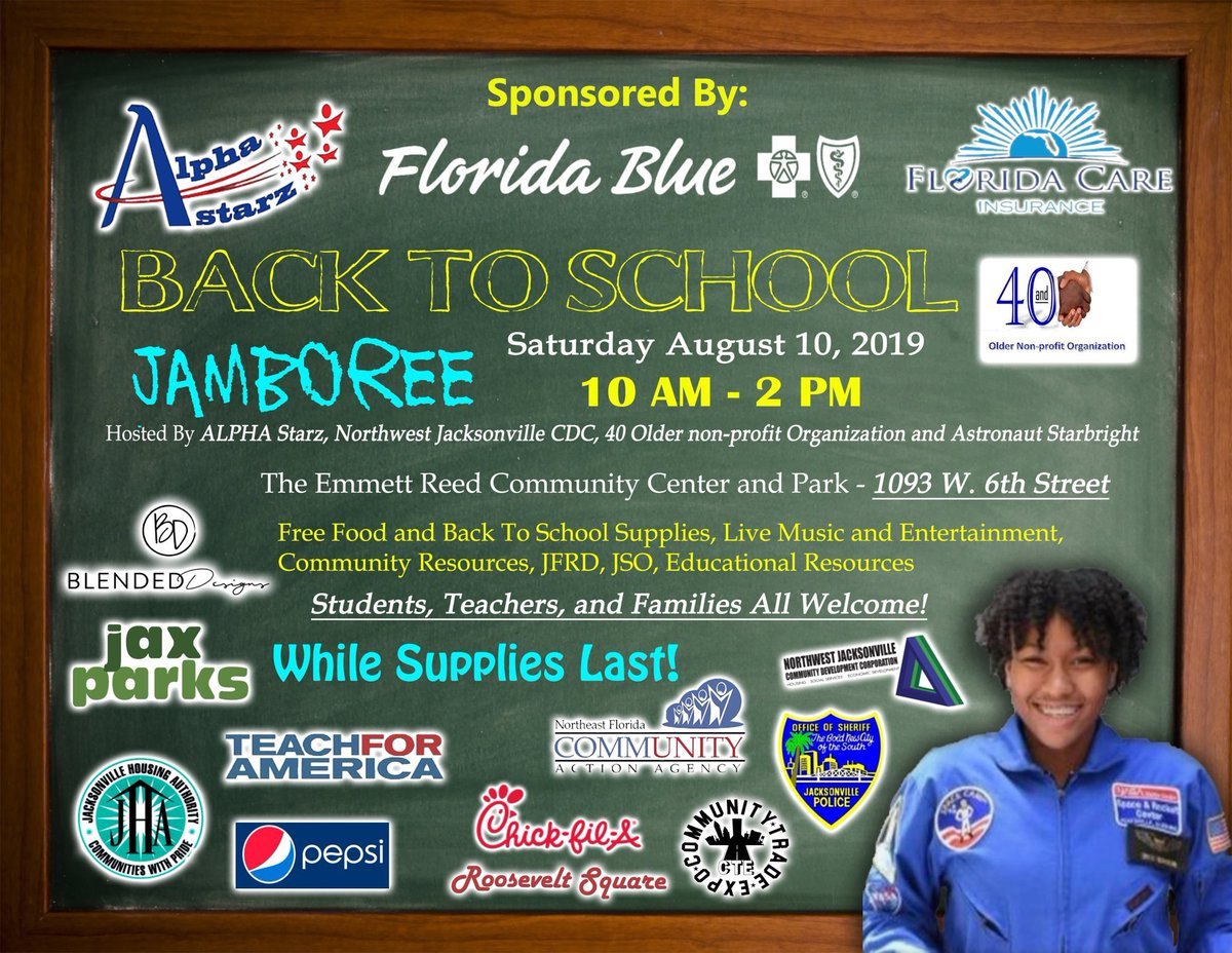 Today is the DAY! Back to School Jamboree! 1000 kids!
