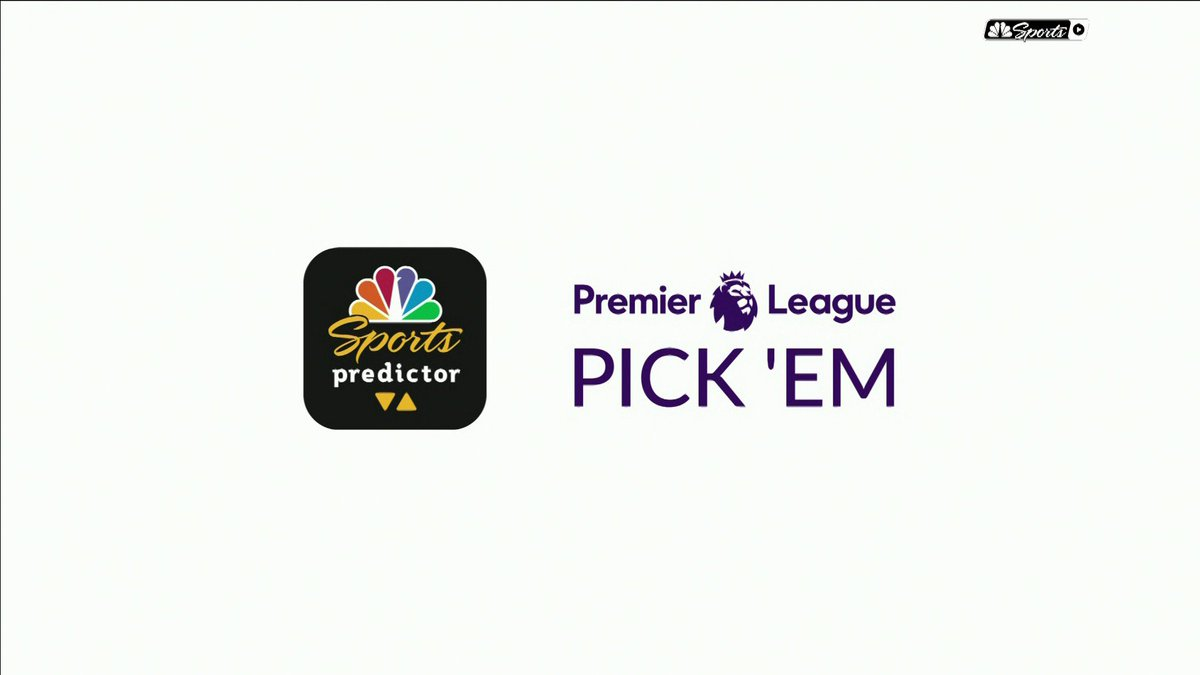 Premier League Pick Em is back! Download today: apple.co/33qj5Bl