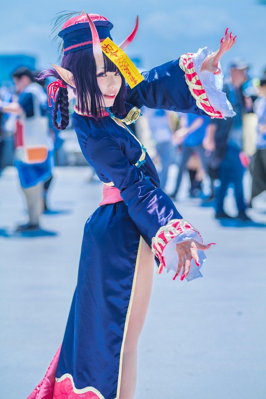 画像,夏コミ 2日目Fate/Grand Order  祭装酒呑童子 キョンシーphoto:@buaisu_twit https://t.co/OGvfvf32wD…