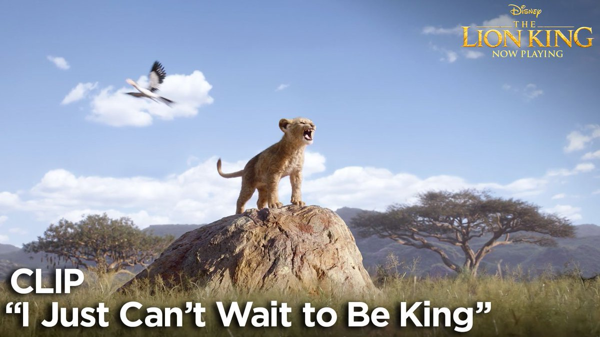 The wait is over. See #TheLionKing in theatres now and get the soundtrack: disneymusic.co/TheLionKing