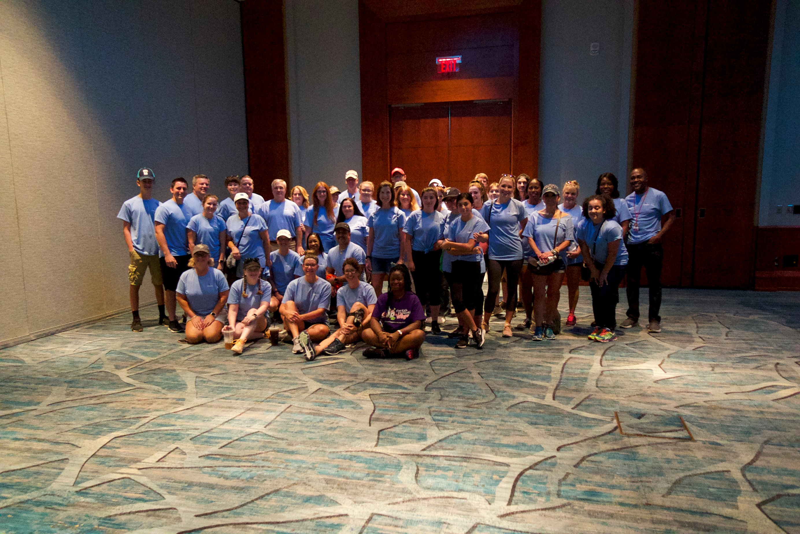 GB Employees who volunteered at this year's Give Kids the World Event