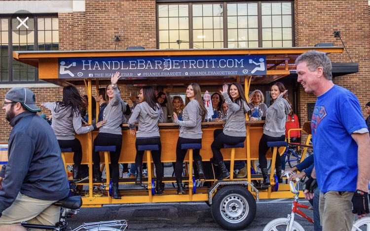 I could live one thousand lifetimes and would still not see the appeal in a Pedal Pub.